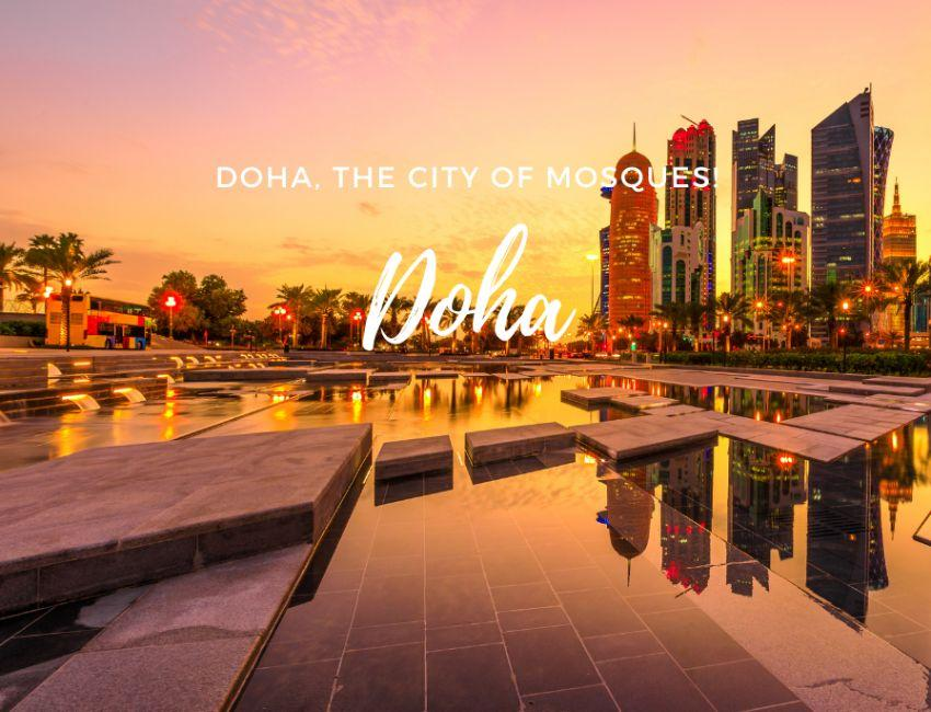 Doha, the city of mosques!