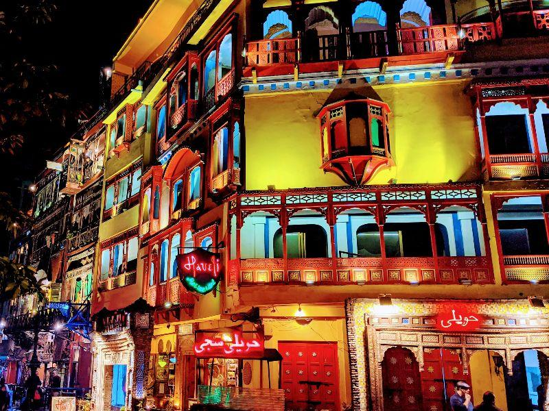 5 places for a night out in Lahore